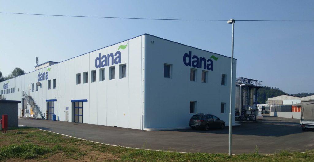 Dozidava industrijskega objekta Dana