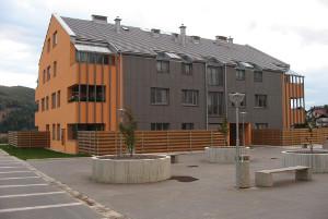 Stanovanjski objekti Glavarjev trg