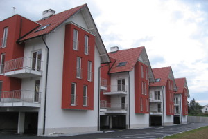 Stanovanjski objekti Levji dvorec