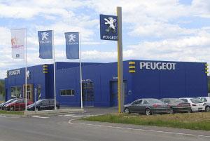 Peugeot servis in prodajalna
