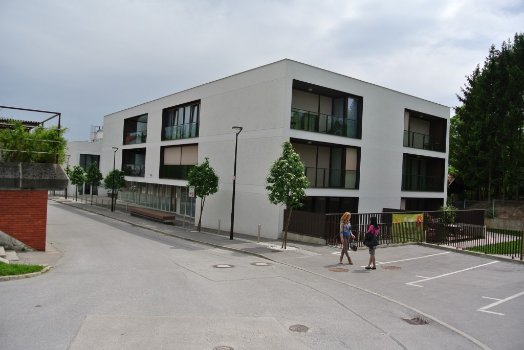 Fasaderska dela – Oskrbovana stanovanja