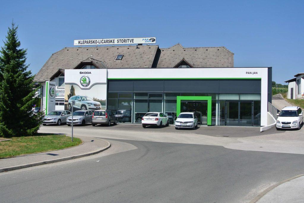 Salon vozil Škoda PAN JAN