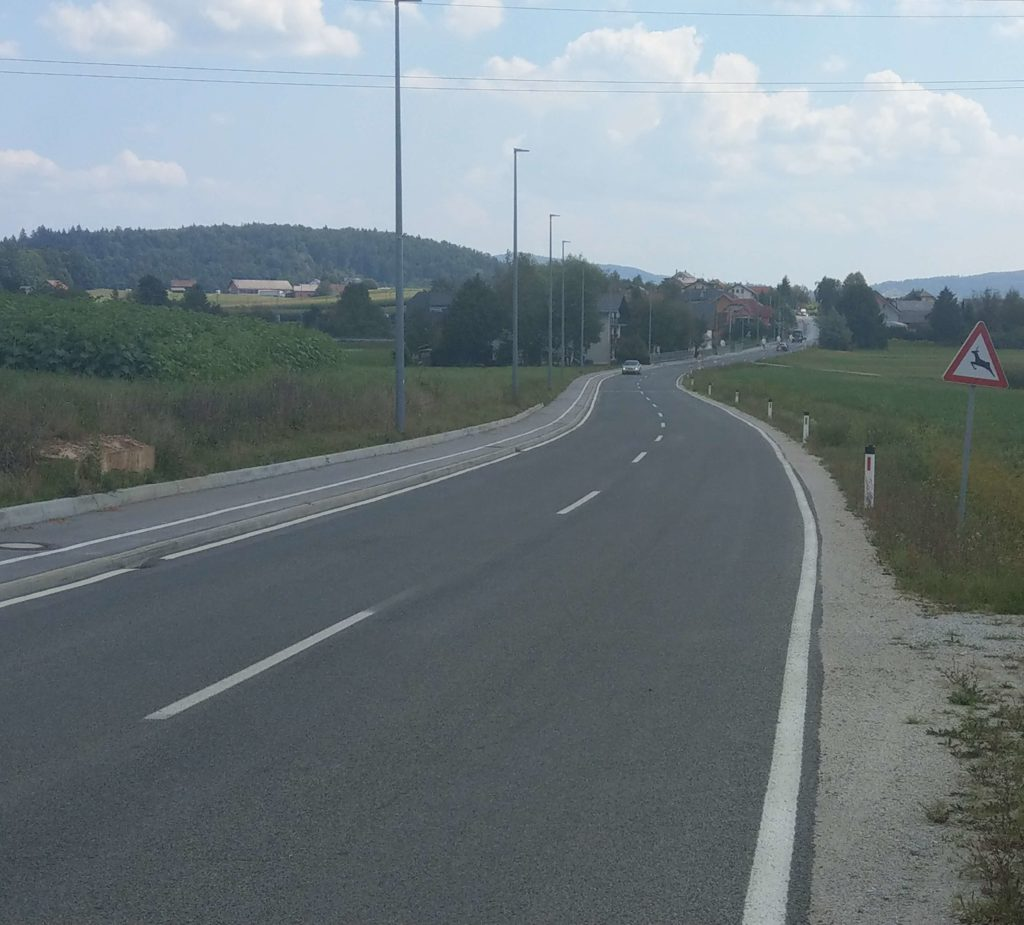 Hodnik za pešce Šmarje Sap – Cikava